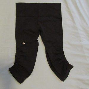 Cropped Lululemon Scrunched Leggings - Like New